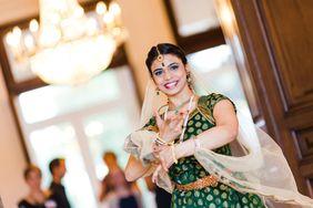 Tänzerin Priya Tilak begeisterte die Gäste der Festveranstaltung
