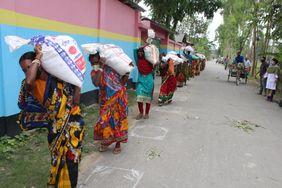 Corona Krise Bangladesch Indien Lebensmittel Hunger