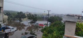 Hochwasser Flut Indien