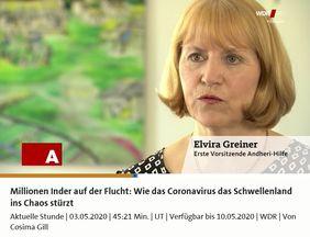 WDR Aktuelle Stunde Corona Krise Hilfe