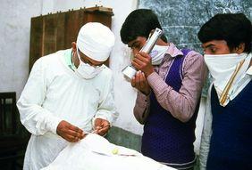 Augenoperation in Bangladesch