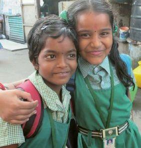 Mädchen Indien Bangladesch Corona Krise