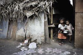 Kinder Slum Indien