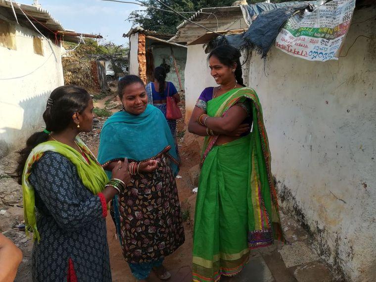 Slums Indien Frauen Rechte