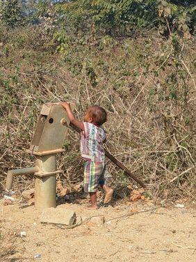 Indien Wasser Weltwassertag