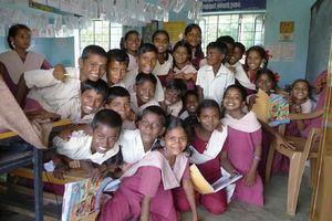 Diese Kinder in Indien können zur Schule gehen