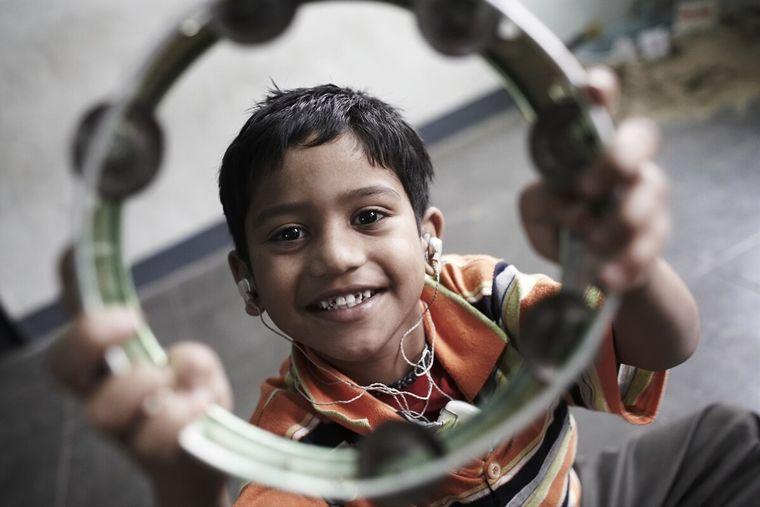 Kinder mit Behinderungen