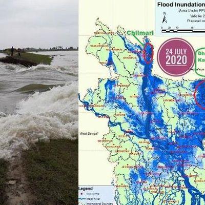 Flut Bangladesch flood bangladesh
