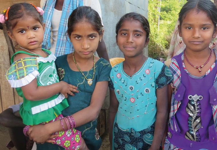 Dalits Indien Kinder