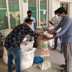 Indien Slum Hyderabad