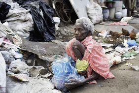 Indien Corona Krise Slums