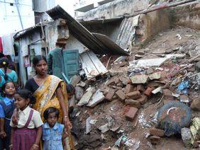 Slum Indien Corona Krise