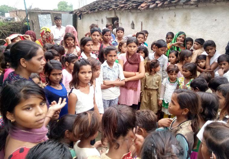Kinder in Indien kämpfen für ihre Rechte