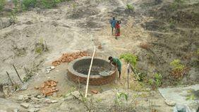 Brunnen Indien Wasser