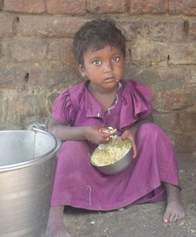 Musahar Kind Armut Indien Hunger