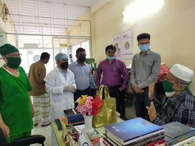 Bangladesch Ärzte Corona
