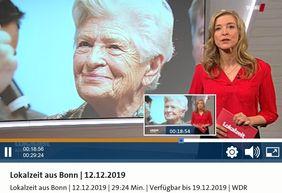 Rosi Gollmann Bonn Lokalzeit WDR