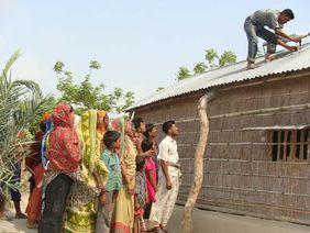 Solaranlage Solarpanel Bangladesch Klimaschutz
