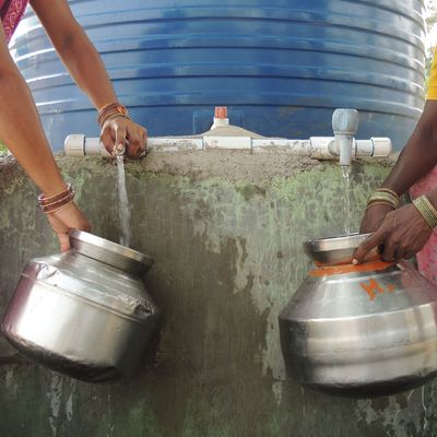 Wassermangel in Indien