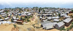 Rohingya Flüchtlingscamp Bangladesch Cox's Bazar