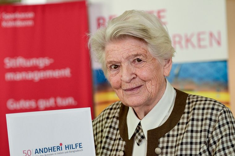 Rosi Gollmann im Jubiläumsjahr 2017