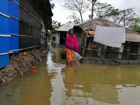 Flut Indien Bangladesch Amphan Zyklon cyclone Sturm